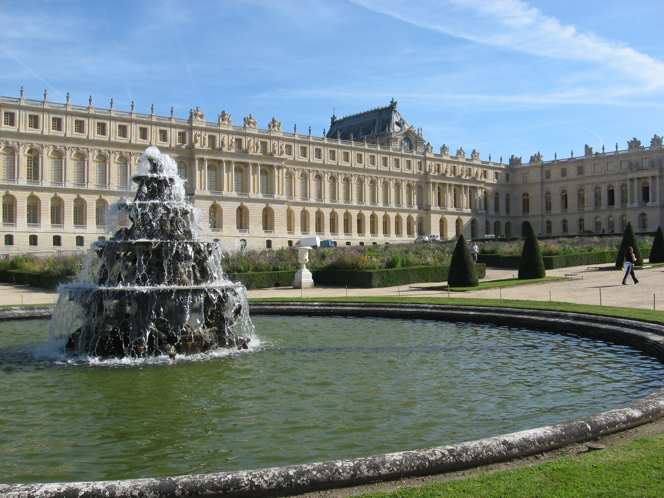 The fountains of versailles the world for Versailles paris