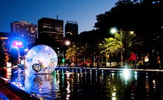 winter, fun with kids, darling harbour, winter wonderland, cool yule, free things to do