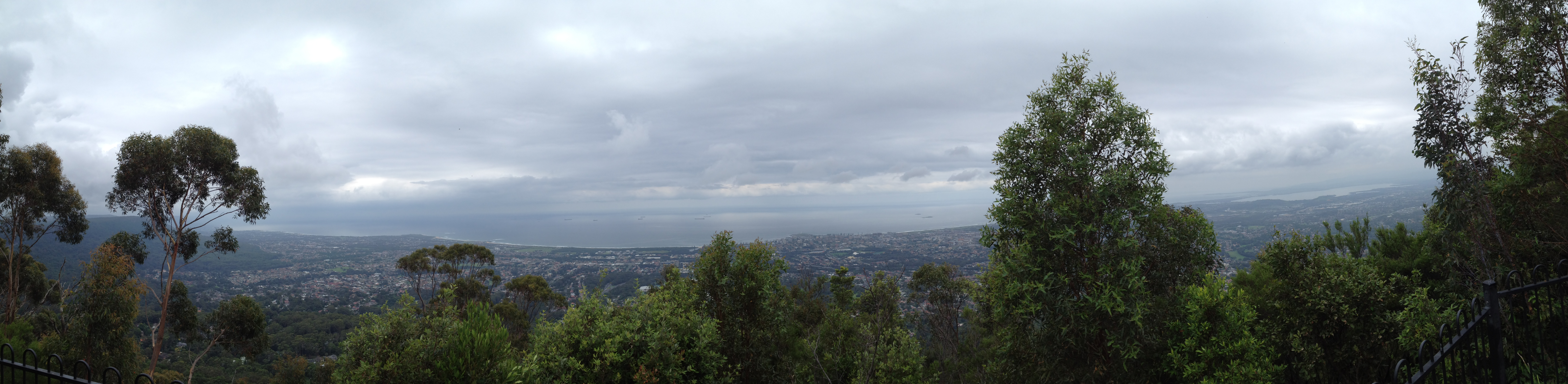mount keira lookout - HD 9520×2332