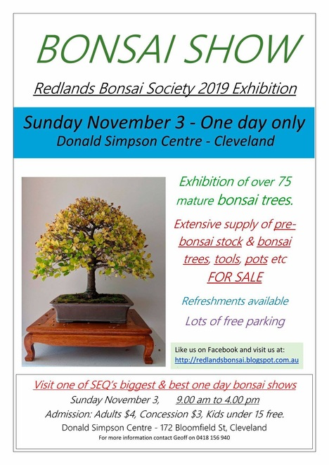 Courtesy of Redlands Bonsai Society Facebook