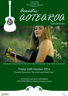 Acoustic Aotearoa Concert at the Arts Centre Gold Coast