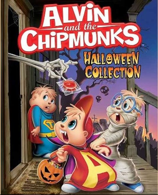 Alvin and the Chipmunks, Nightmare On Seville Street, Nightmare On Elm Street, Theodore's Life As A Dog, Werewolf, Dog, Babysitter Fright Night, Fright Night, Fright, Night, Babysitter, Halloween Collection, Halloween, Collection, Michael, Alvin, Simon, Theodore, Dave, Trick or Treason, Trick or treat, Kids, Children, Lessons, Learn something, anti-bullying, redhead, red hair, bullying, bully, kindness, friendship, spooky, movie, film, cartoon, animation, sing-a-long, song, songs, sing, singing, music, musical