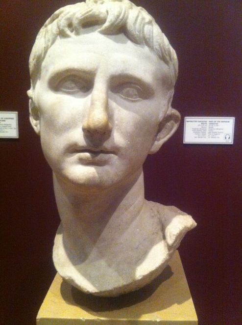 augustus, octavian, roman, emperor, bust, istanbul, archaeology, museum