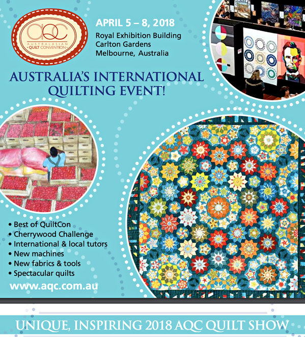 australasian quilt convention 2018, intocraft, royal exhibition building, carlton, quilting event, community event, fun things to do, arts and crafts, international quilt tutors, local quilt tutors, aqc quilt show, quilt exhibition, australian quilts, quilt lectures, quilting classes, quilting classes, shop for quilts, premier quilting event, craft enthusiasts, handmade quilts, one of a kind quilts, ooak quilts