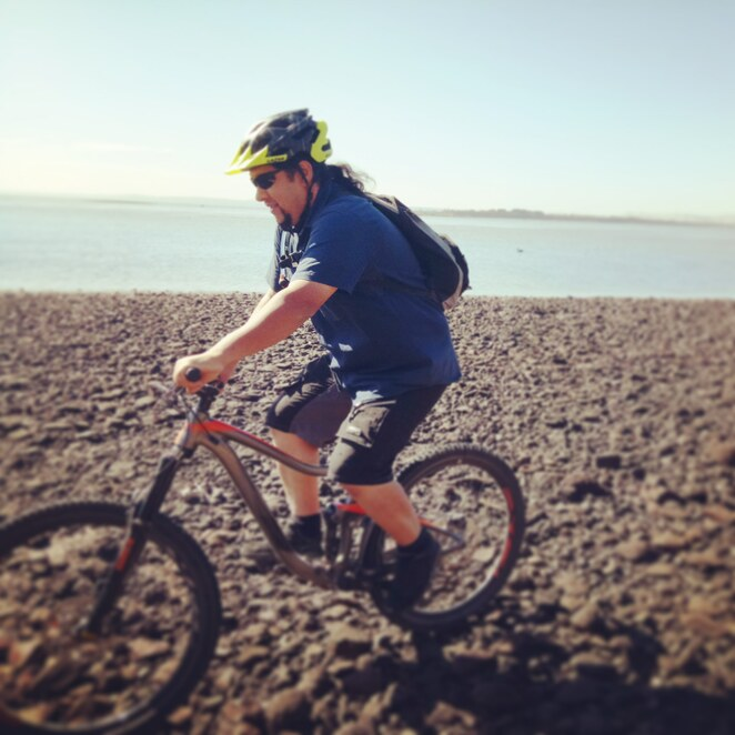 Bike riding, French Island, westernport bay, national park, ferry crossing