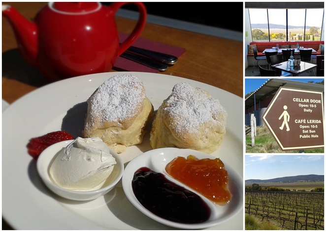 cafe lerida, lake george, lerida estate, ACT, NSW, canberra wine district, federal highway, views, wineries, lunch, scones,