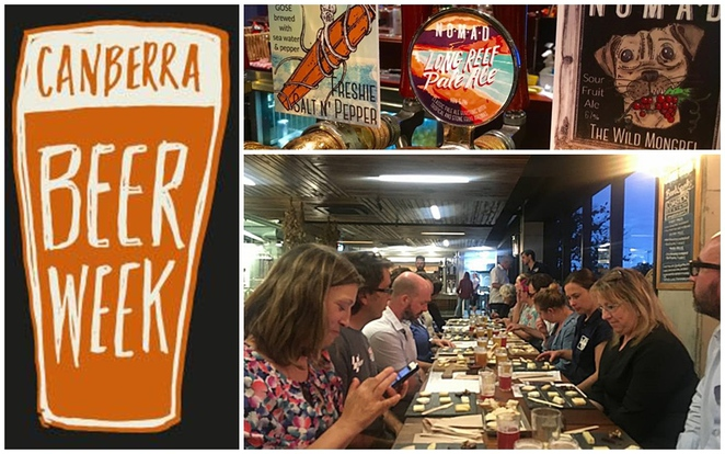 canberra beer week, canberra, ACT, beer festivals, old canberra inn, durham arms, walt and burley, pubs, bars, breweries,