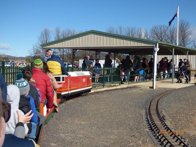 canberra miniature railway, canberra, september, running day, kids, activities, events, hume, ACT, 2018, whats on, 9th september, kids events, canberra, family friendly,