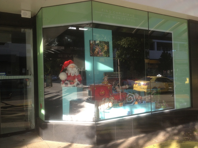 Myer Christmas Windows - Russell's Christmas Magic