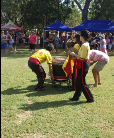Chung Wah Society, Chinese New Year, Dog year, Lion Dance, blessing performance, Chinese New Year attractions, Darwin, free