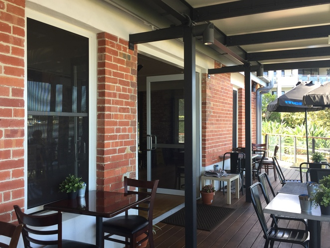 coffee shop, cafe, deck, riverside, view, teneriffe, dog friendly, afternoon tea