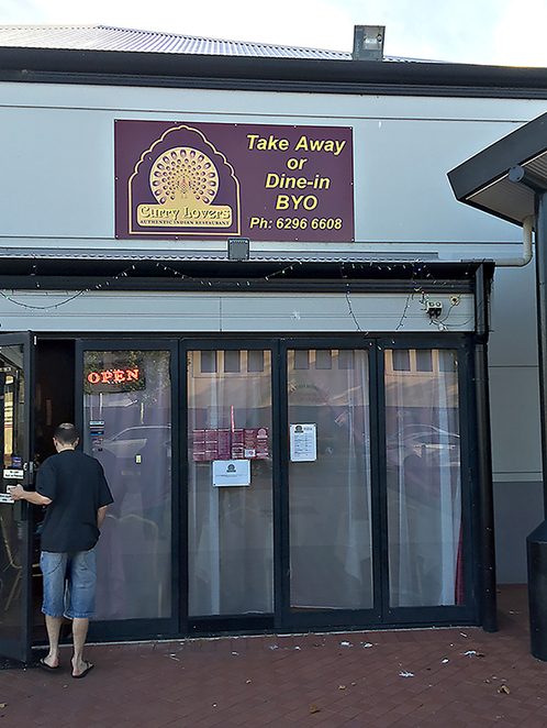 Curry Lovers, curries, Ellenbrook, Tandoori, Take-away, Dine-in, home-delivered