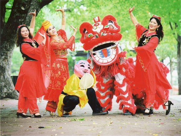 Dancing,and,lion,dance