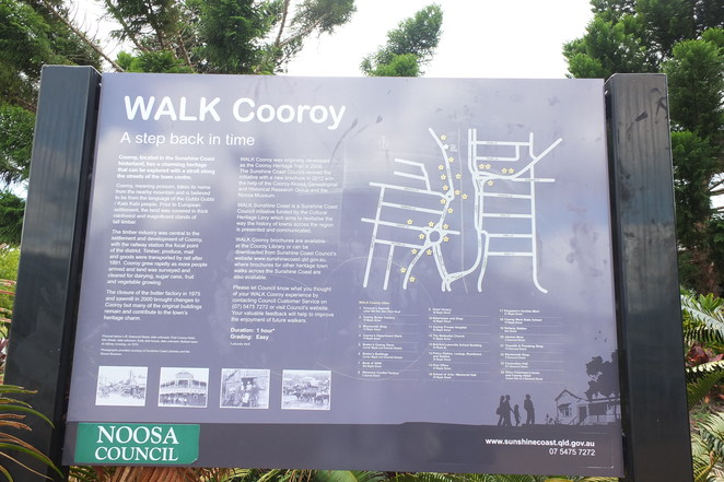 Day tripping in Cooroy, heart of the Hinterland, Sunshine Coast, Lake MacDonald, Noosa Trails, 2018 Australia Body Art Festival, RV accommodation, bed 'n breakfast, Cooroy Heritage Walk, 24 historical locations, Cooroy Butter Factory, Butter Factory Arts Centre, Maple Street, The Mulberry Cafe, Lake MacDonald, Noosa Botanic Gardens, Mount Tinbeerwah, Cooroora Mountain, King of the Mountain