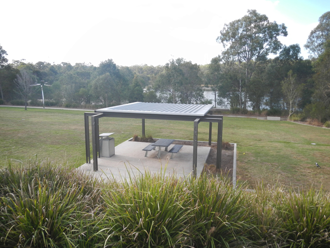 discovery park, springfield lakes, fenced playground, wheel chair accessible
