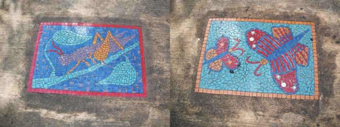 Fairfield Heights Park mosaics