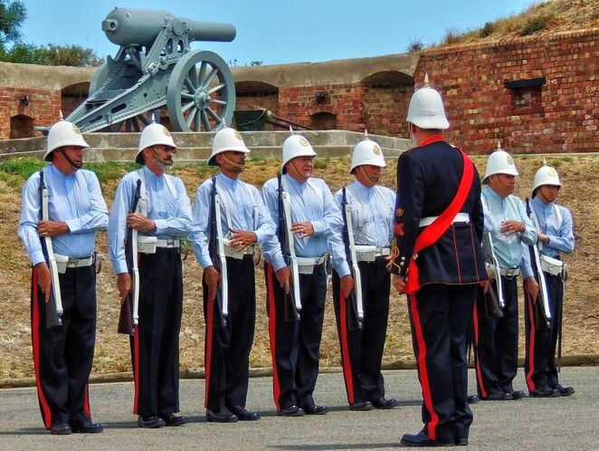 fort glanville, what's on in adelaide, about adelaide, semaphore, coastal fort, reenactments, conservation park, drill parade