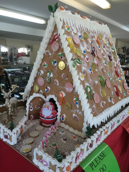 Giant Gingerbread House