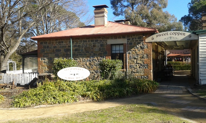 Ginnenderra Village, Gold Creek, historical buildings in canberra,