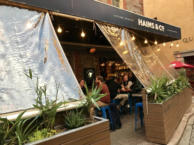 Hains & Co in Gilbert Place