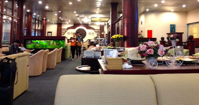 Ho Chi Minh City Airport Terminal 1 Business Class Lounge
