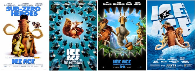 Ice Age, Weather movies, animated movies, mammoth, sabre-toothed tiger, Ray Romano