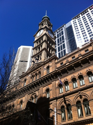 The Clock Tower, the GPO building, No.1 Martin Place
