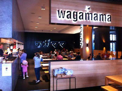 Wagamama at Carindale Westfield's new Glasshouse precinct