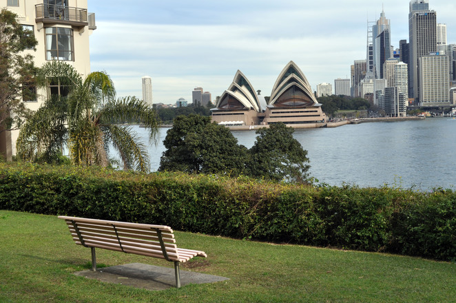 dr mary booth lookout reserve, sydney, sydney opera house