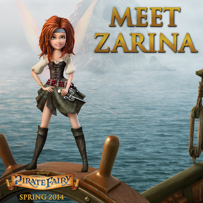 zarina pirate fairy disney
