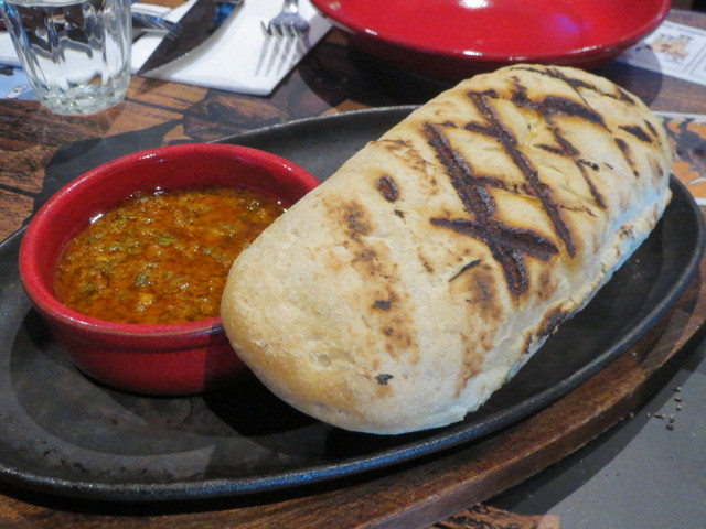 La Boca Bar and Grill, Traditional Bread, Adelaide