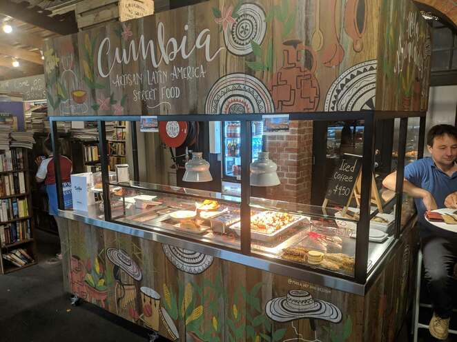 latin american street food, street food, adelaide, central market, cumbia