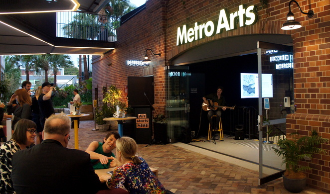 At Metro Arts in West End