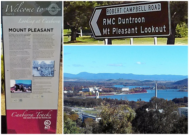 mount pleasant lookout, canberra, ACT, secret city, lookouts, views, duntroon, army, city views, hills, mountains