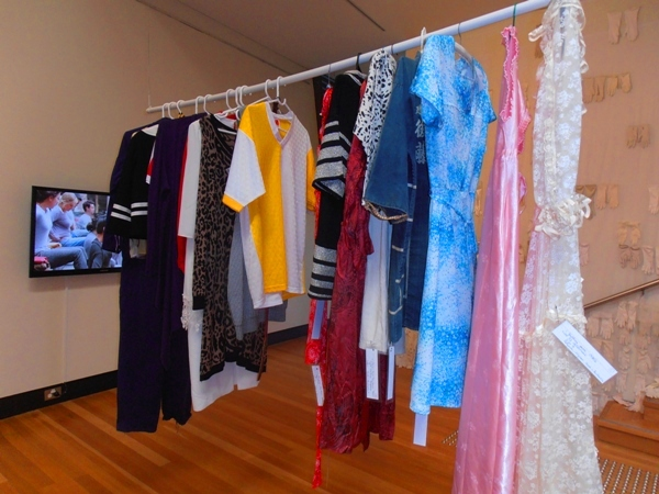 Op shop exhibition at Maitland Regional Art Gallery