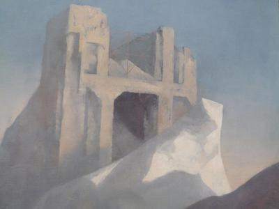 Section of Rick Amor's 'Study for the Dry Season', 2003.
