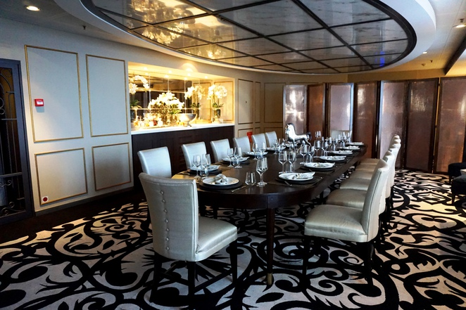 Pacific Eden - P&O Cruises, Chefs Table