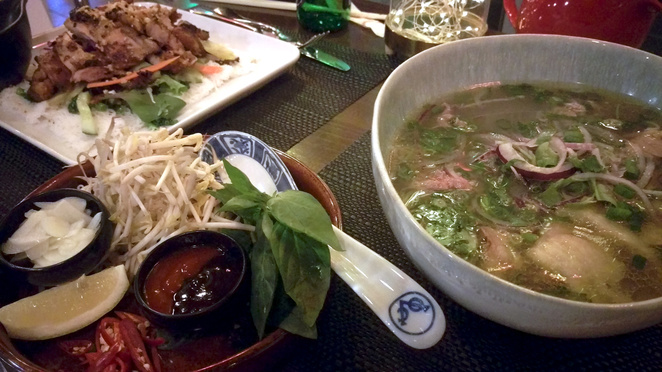 Hoi An Pho at Than Nuong Vietnamese Restaurant
