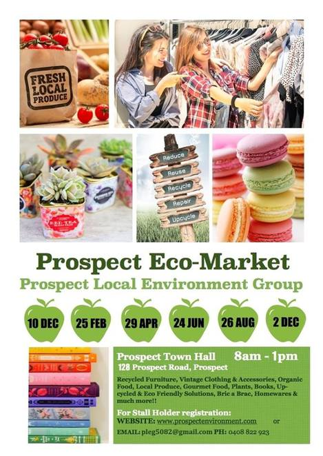prospect eco market, eco markets, markets, markets in adelaide, pleg, prospect local environment group, market stalls, environmentally friendly, prospect