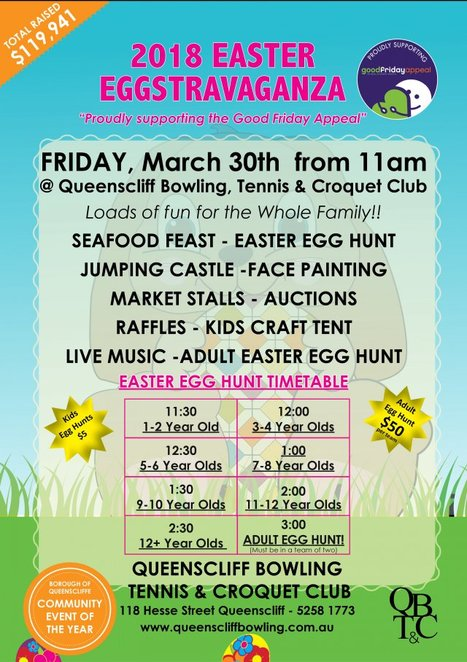 Queenscliff, Queenscliffe, Egg Hunt, Easter Egg Hunt, Easter Eggstravaganza, Easter 2018, Easter Events, Bellarine, Geelong,