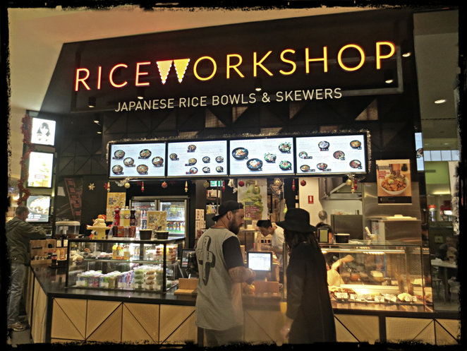 rice workshop, japanese rice bowl, japanese food, knox shopping centre, asian food, japanese