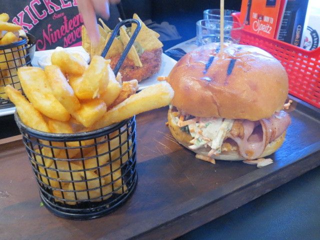 Schnithouse at Hilton, Pig in Schnit Burger, Adelaide