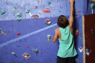 The Bouldering Wall