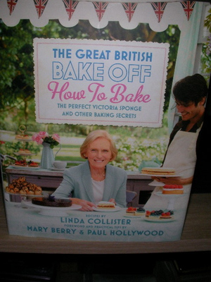 The British Bake Off, cookbook