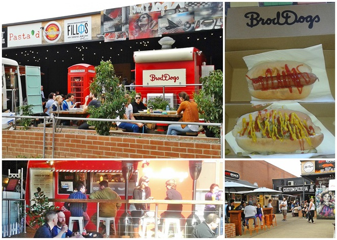 the hamlet, canberra, braddon, food trucks, ACT, lonsdale street, brodogs, burgers, hot dogs, american food,
