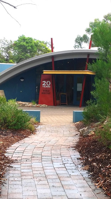 The visitor centre at Naracoorte Fossil Caves