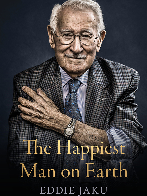 the world's happiest man 2020, a talk with eddie jaku 2020, community event, fun things to do, sydney jewish museum, online conversation event, informative, historical, sydney jewish museum, holocaust survivor eddie jaku, author talk, inspiring story, outlook on life, zoom webinar