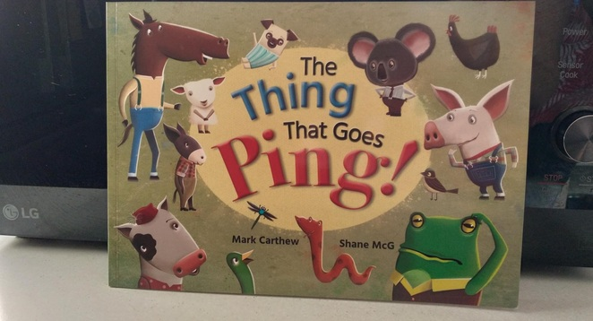 thing ping children, picture book, review