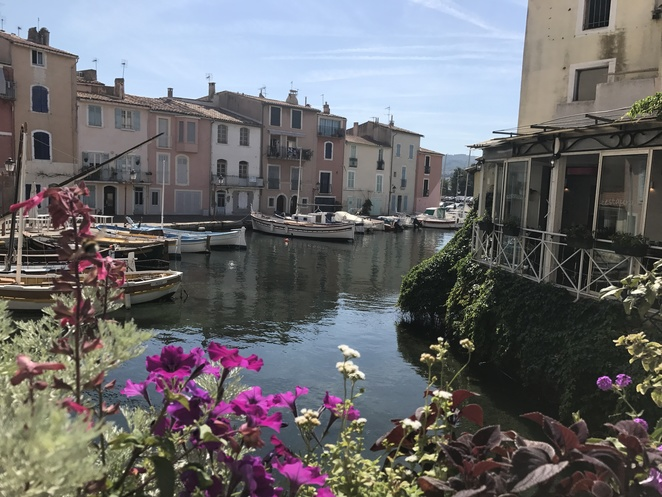 Venice-like canal in Martigues