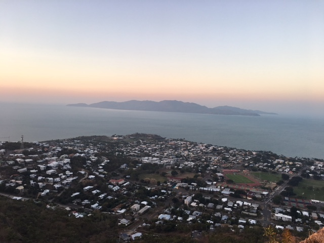 View of Magnetic Island from Castle Hill